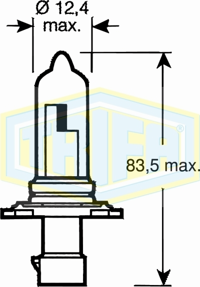 HB3A (9005) Halogen bulbs
