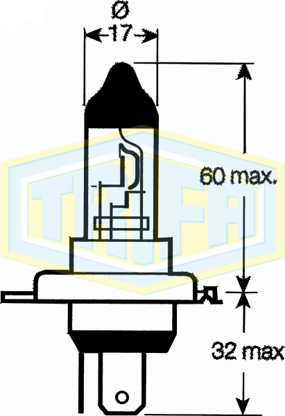 HB2 (9003) Halogen bulbs